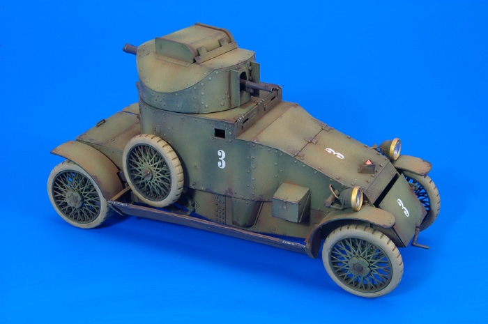 Lanchester, Russian Service 1:35