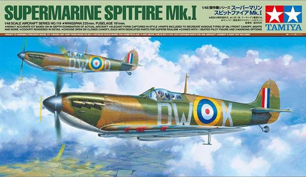 Tamiya Supermarine Spitfire Mk.I 1:48