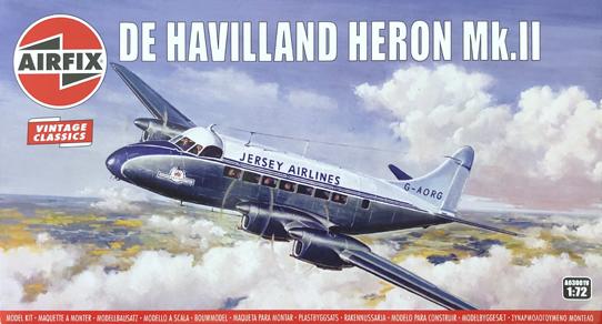Airfix De Havilland Heron Mk.II 1:72