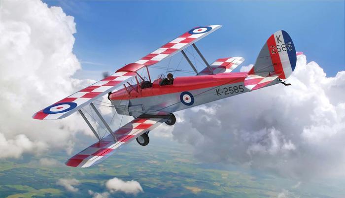 Airfix de Havilland D.H.82a Tiger Moth, 1.48