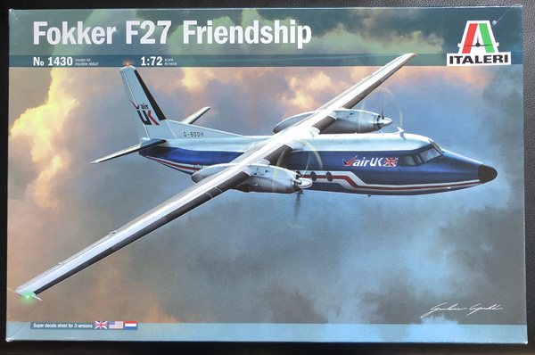Italeri Fokker F27 Friendship 1:72
