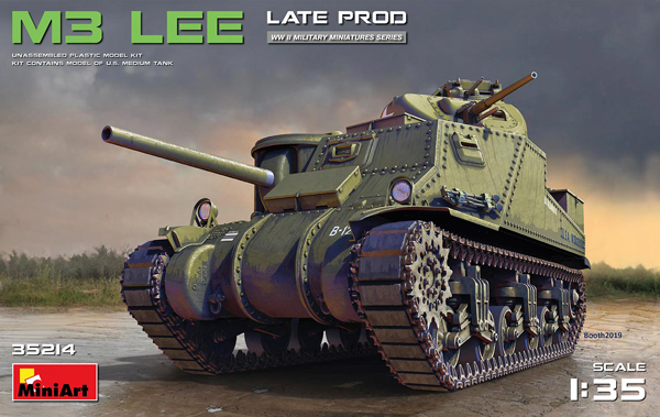 MiniArt M3 Lee Late Production 1:35