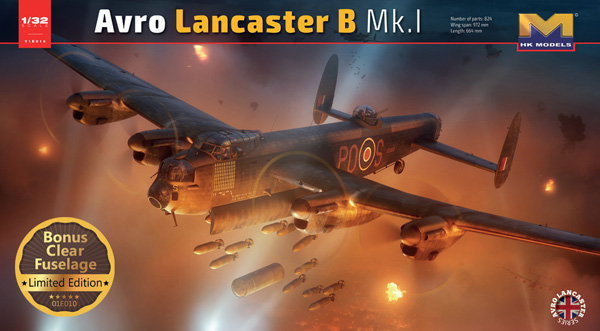 Hong Kong Models Avro Lancaster B Mk.1 1:32