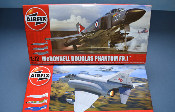 Airfix McDonnell Douglas Phantom FGR-2 Double Build 1:72