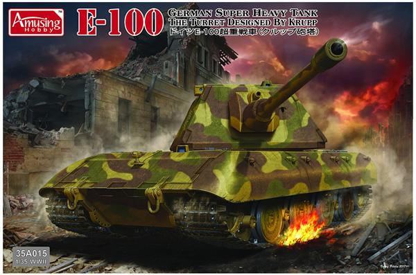 Amusing Hobby German E-100 Super Heavy Tank 1:35