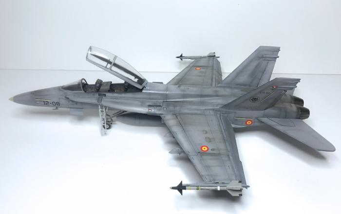 Kinetic F/A-18B Hornet 1:48