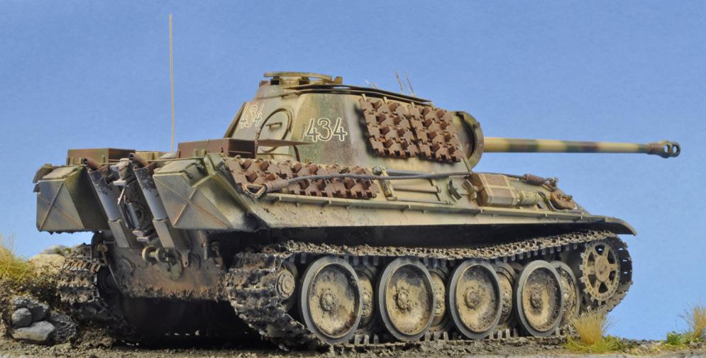 Italeri Pz.Kpfw.V Panther Ausf G 1:35