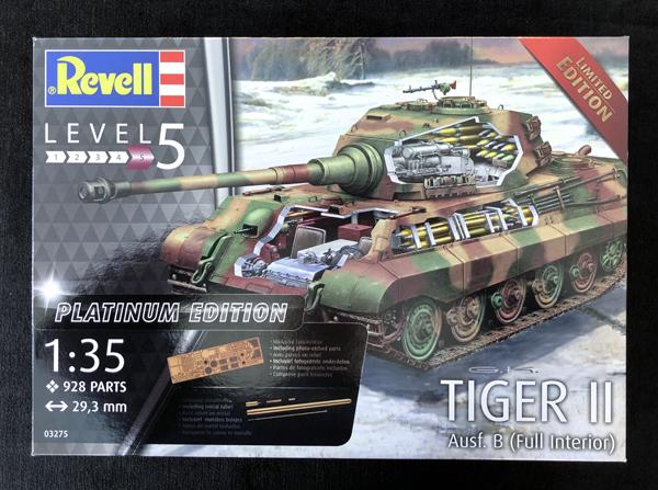 Revell Tiger II, Ausf B Full Interior Platinum Edition 1:35