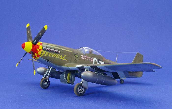 eduard P-51D-5 Mustang, Dai W build 1:48
