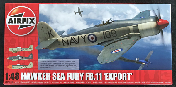 Airfix Hawker Sea Fury, Royal Iraqi Air Force 1:48