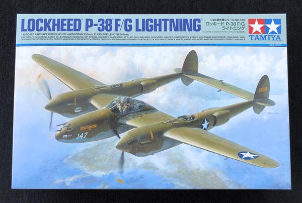 Tamiya Lockheed P-38F/G Lightning 1:48