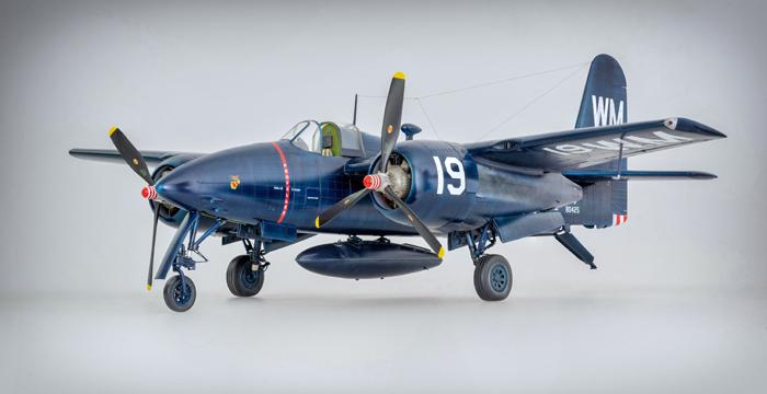 HpH Models F7F 3P Tigercat 1:32