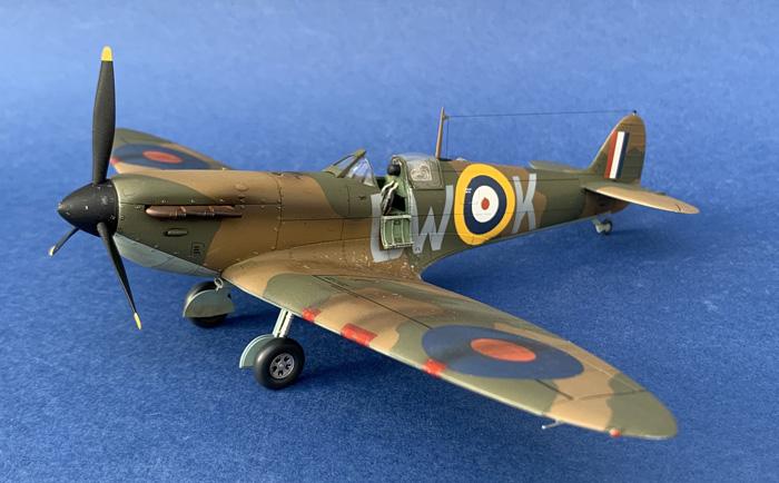Tamiya Supermarine Spitfire Mk.I (DC Build) 1:48