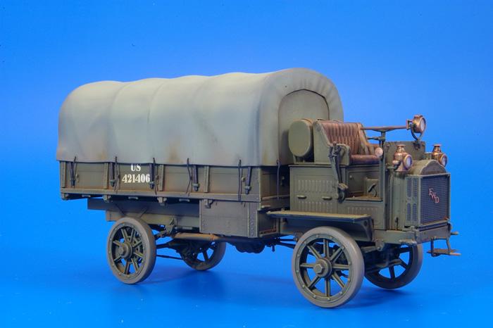 ICM FWD Type B WW1 US Army Truck 1:35