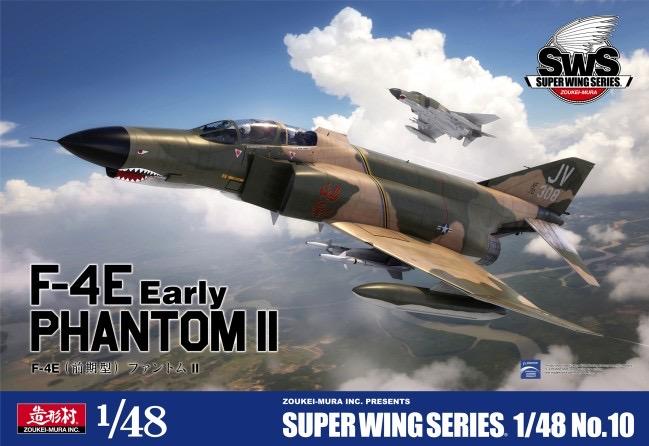 Zoukei-Mura F-4E Phantom II Early 1:48