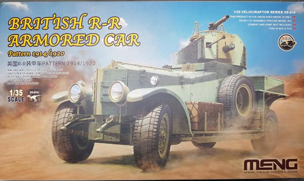 British Rolls Royce Armoured Car Pattern 1914/1920 1:35