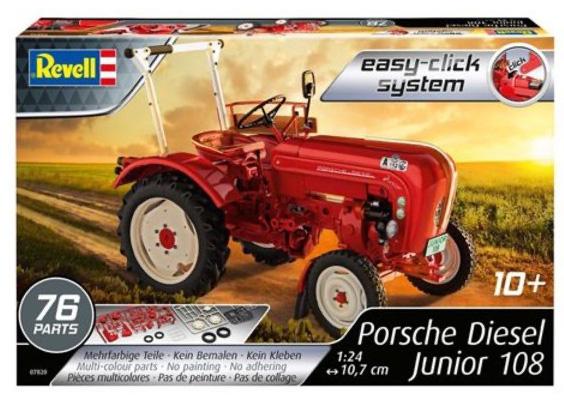 Revell Porsche Diesel Junior 108 Tractor 1:24