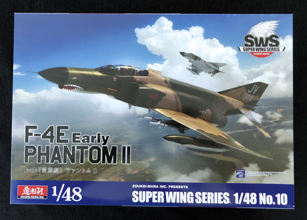 Zoukei-Mura F-4E Early Phantom II 1:48