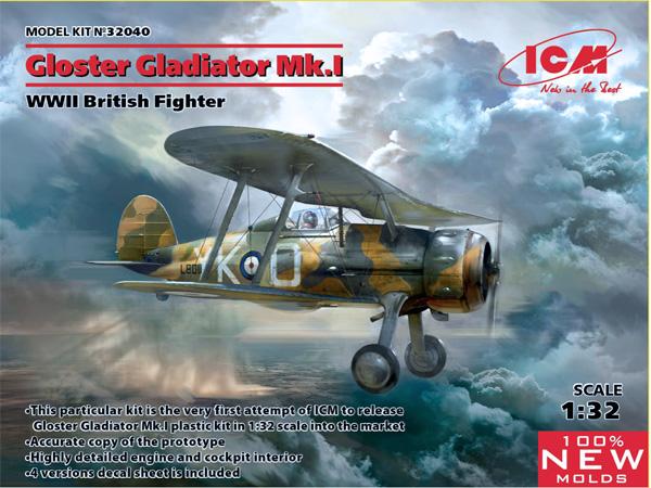 ICM Gloster Gladiator Mk. I