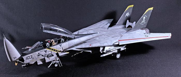 Trumpeter Grumman F-14B Tomcat, 1:32
