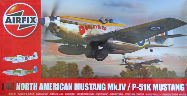 Airfix Mustang Mk.IV, Italy 1944 1:48