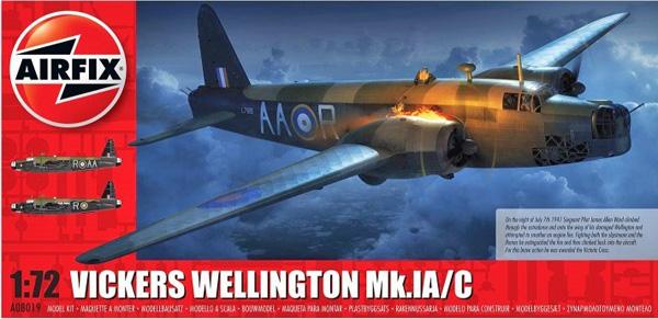 Airfix Vickers Wellington Mk.IA.C 1:72
