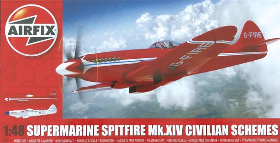 Airfix Supermarine Spitfire Mk.IV Civilian Schemes 1:48