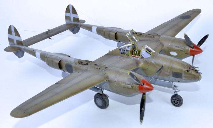 Tamiya P-38 F/G Lightning 1:48