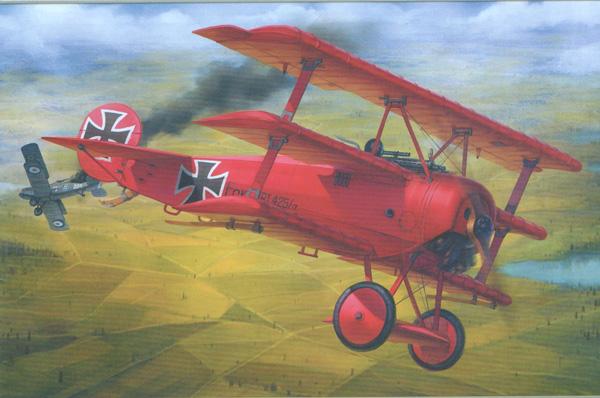 Meng Fokker Dr.1 Triplane 1:32