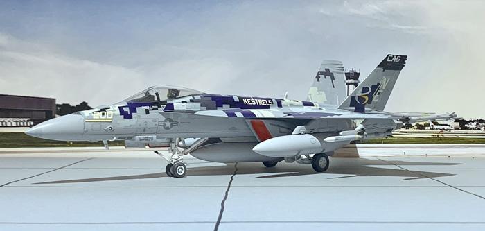 """eduard F/A-18E Superhornet """"SUPERBUG"""" 1:48"""