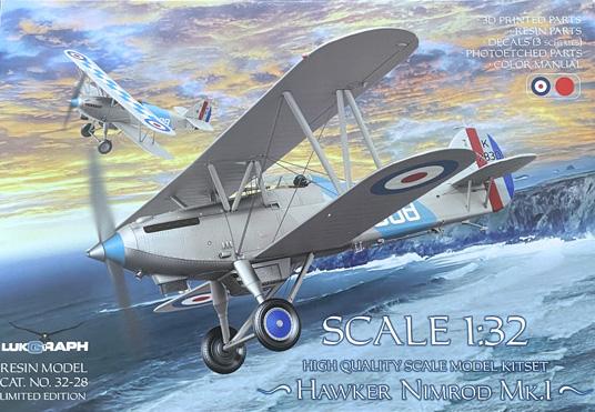Lukgraph Hawker Nimrod Mk.I 1:32