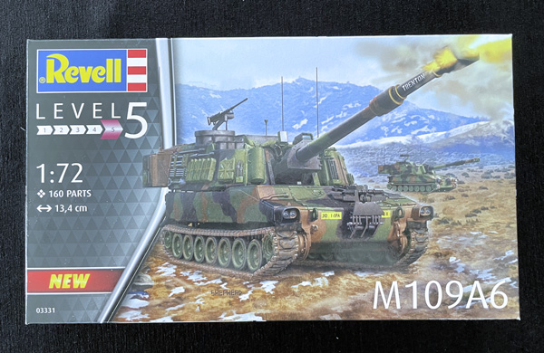 Revell M109A6, Paladin Howitzer, 1.72