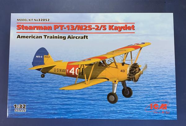 ICM Stearman PT-13/N2S-2/5 Kaydet 1:32