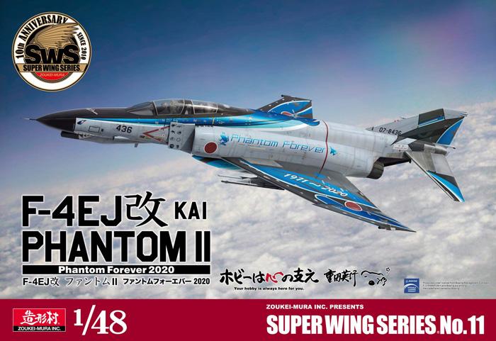 Zoukei-Mura F-4EJ Kai Phantom II Phantom Forever 2020