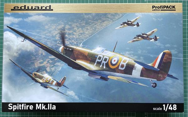 eduard Spitfire Mk.IIa 1:48