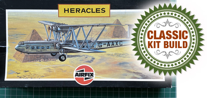 Airfix Handley Page H.P.42