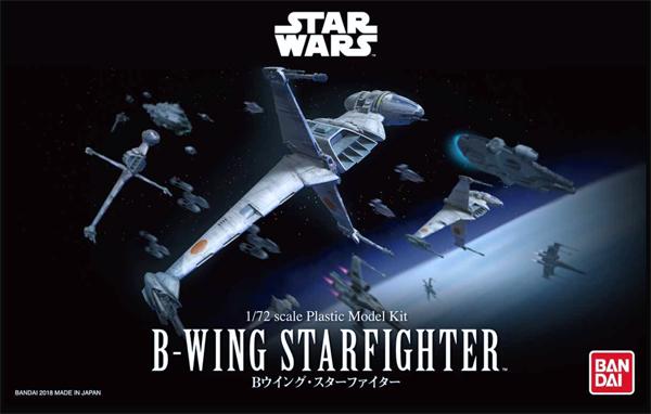 BanDai Star Wars B- Wing Starfighter 1:72