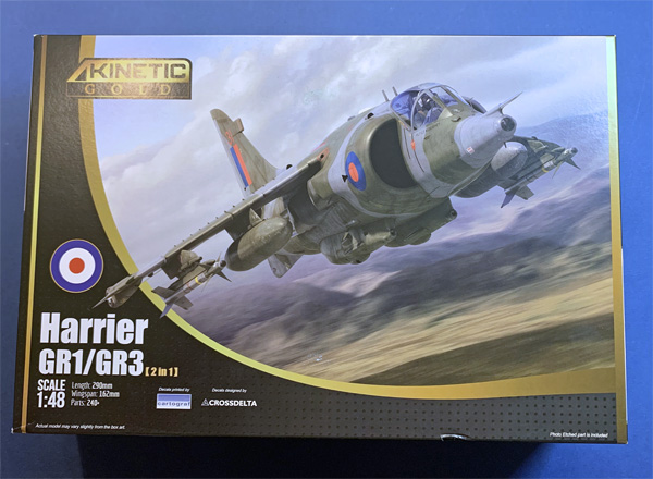 Kinetic Gold Series Harrier GR1/GR3 (2 in 1) 1:48