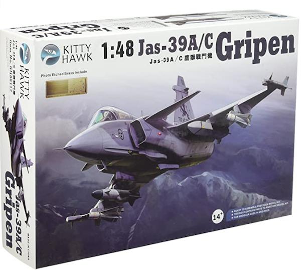 Kitty Hawk Jas-39 A.C Gripen 1:48