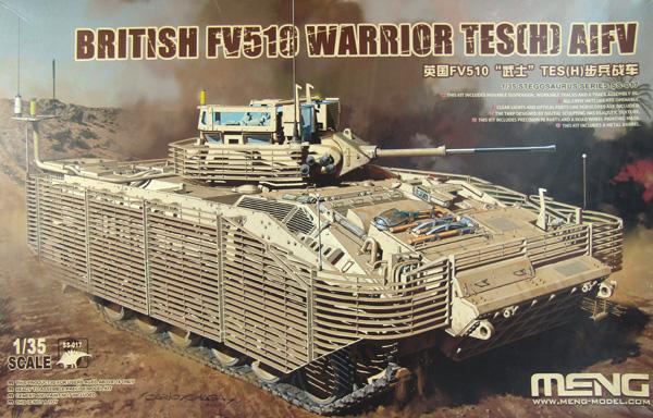 Meng FV510 Warrior AIFV TES