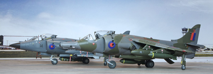 Kinetic Gold Series Harrier GR1/GR3 (2 in 1) 1:48