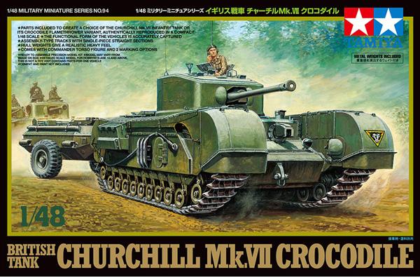 Tamiya Churchill Crocodile 1:48
