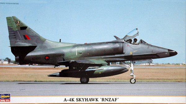 Hasegawa A-4K and TA-4K Skyhawks RNZAF 1:48