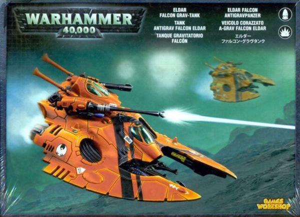 Eldar Falcon Grav Tank, Warhammer