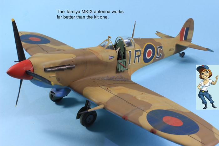 HobbyBoss Supermarine Spitfire Mk.Vb Trop 1:32