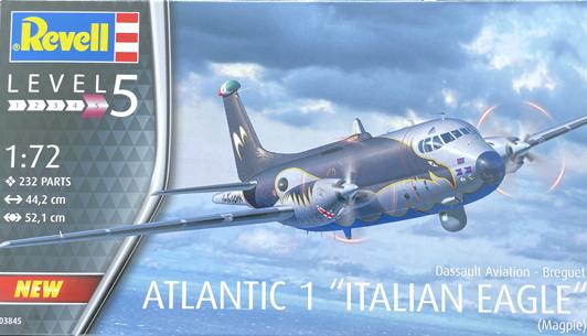 Revell Dassault Aviation-Breguet Atlantic 1 Italian Eagle 1:72