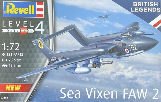 Revell Sea Vixen FAW.2 1:72