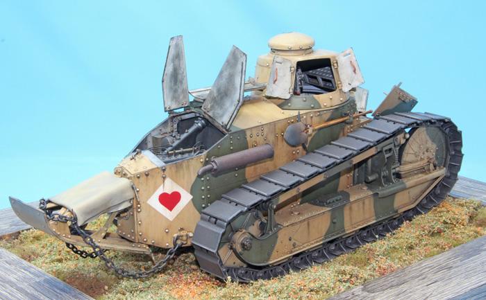 Takom French Light Tank Renault FT 1:16