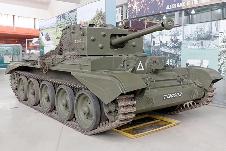 Cromwell Mk.IV at Bovington Tank Museum