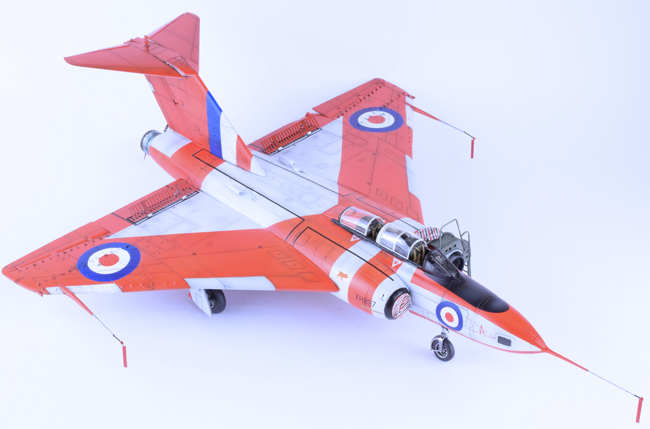Airfix Gloster Javelin with Alleycat conversion